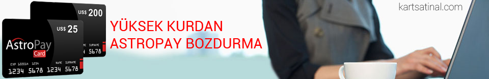 Astropay Bozdurma